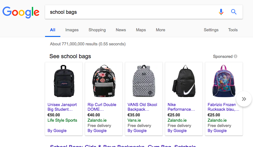 Does your business use Google Shopping?