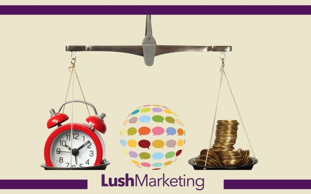 5 Tips to save time and money on marketing.